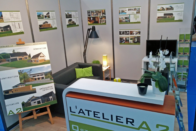 Stratogene agence de communication en alsace for Agencement de stand